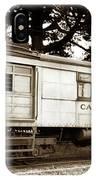 California Western  M 100 Gas Railcar  Skunk Train  Circa 1930 IPhone Case