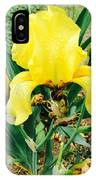 Call Me Yellow IPhone Case