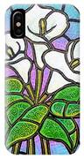 Calla Lilies 3 IPhone Case