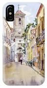 Calle Fuente Alhabia IPhone Case