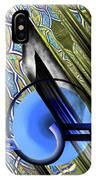 Calligraphy 103 4 IPhone Case
