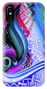 Calligraphy 109 4 IPhone Case