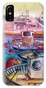Calpe Harbour 03 IPhone Case