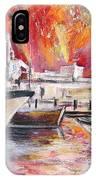 Calpe Harbour Spain IPhone Case
