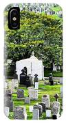 Calvary Cemetery From Above IPhone Case