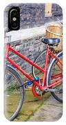 Cambridge Bikes 1 IPhone Case