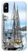 Camden Bay Harbor IPhone Case