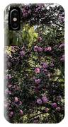 Camellia Tree IPhone Case