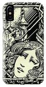 Lancelot And Guinevere IPhone Case
