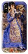 Camille Monet Reading 1872 IPhone Case