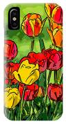Camille's Tulips IPhone Case