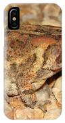 Camouflage Toad IPhone Case