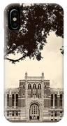 Campus Of Rice University IPhone Case