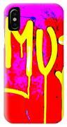 Camus ... Graffitied  IPhone Case