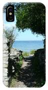 Cana Island Walkway Wi IPhone Case