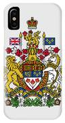 Canada Coat Of Arms IPhone Case