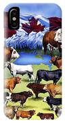 Canadian Beef Breeds IPhone Case