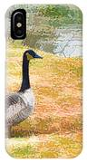 Canadian Geese 6 IPhone Case