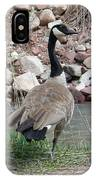 Canadian Goose By The River IPhone Case