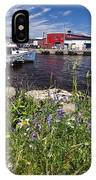 Canadian Harbor On A Sunny Day IPhone Case