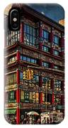 Canal And Center Streets New York City IPhone Case