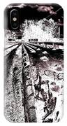 Canal De Lachine - Rail Bridge IPhone Case