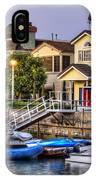 Canal Houses And Boats IPhone Case