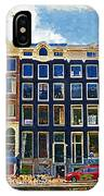 Canal Houses IPhone Case