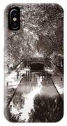 Canal Saint Martin 2 IPhone Case
