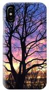 Canal  Winter Sunset  Pt IPhone Case