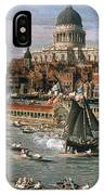 Canaletto: Thames, 18th C IPhone Case