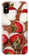 Candied Strawberries IPhone Case