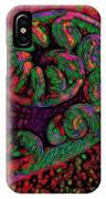 Candy Cane - Hawaiian Style IPhone Case