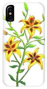 Candy Cane Lily IPhone Case