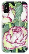 Candy Cane Roses IPhone Case