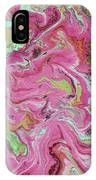 Candy Coated- Abstract Art By Linda Woods IPhone Case