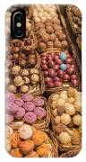Candy Delights - La Bouqueria - Barcelona Spain IPhone Case