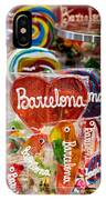Candy Stand - La Bouqueria - Barcelona Spain IPhone Case