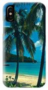 Caneel Bay Palms IPhone Case