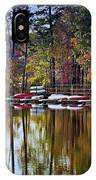 Canoe Lake IPhone Case
