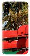 Canoe's At Flamingo IPhone Case