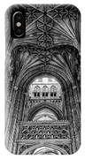 Canterbury Cathedral - Interior IPhone Case