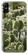 Canvas Of Cacti IPhone Case