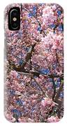 Canvas Of Pink Blossoms IPhone Case