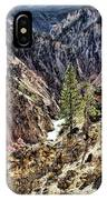 Canyon And Lower Falls IPhone Case