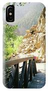 Canyon Rocks Vertical IPhone Case