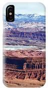 Canyonland Panorama IPhone Case