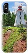Cape Bear Lighthouse - 2 IPhone Case