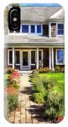 Cape Cod Home IPhone Case
