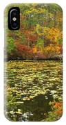 Cape Cod Kettle Pond Foliage IPhone Case